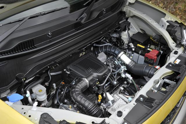 画像: 1L直噴ターボエンジン+モーター+トルコンATというパワートレーンは、スズキ初の組み合わせだ。