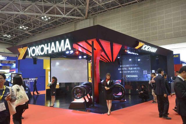 画像: 昨年10月に開催された東京モーターショー・ヨコハマブースには、じつはこのスターマークが付いたアドバン・スポーツV105が展示されていた。気づいた人、いましたか!?