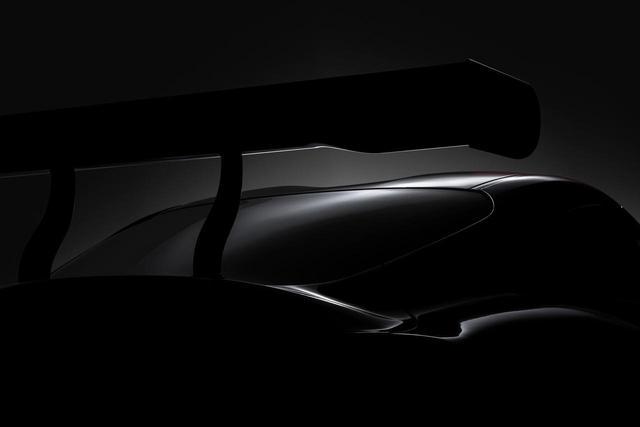 画像: トヨタが公開した現代版レーシングコンセプトのティザー画像。これだけでは暗くてよく分からない。