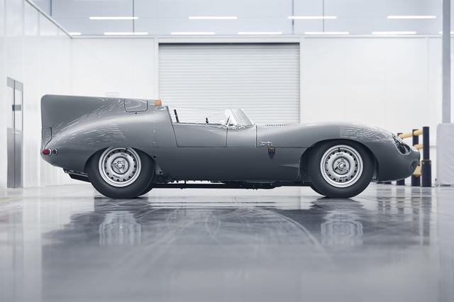 画像: ジャガーCタイプの後継モデルとして1954年から1956年に75台が生産されていた。