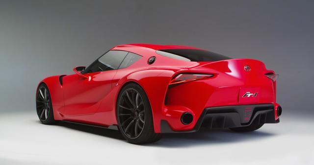 画像: 2014年に北米国際自動車ショーで公開されたFT-1。
