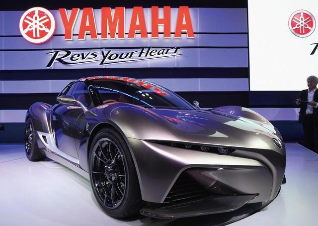 画像: 2015年のTMSでは、スポーツ・ライド・コンセプトを提案。ヤマハらしいスポーツカーは、そのアイデンティティを示した。