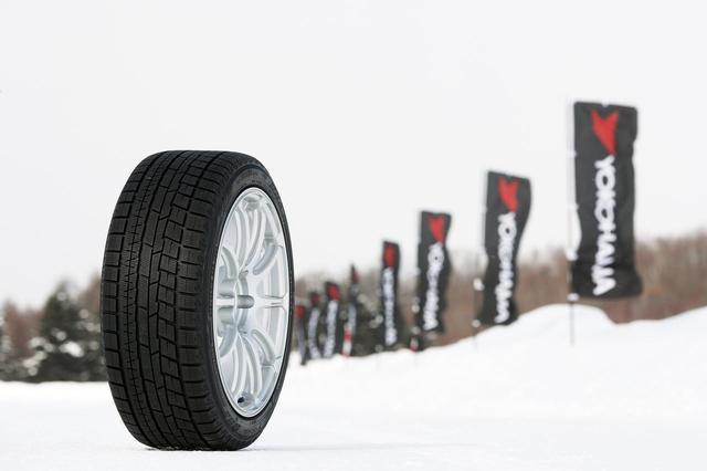 画像: 横浜ゴムの最新スタッドレスタイヤ、iceGUARD 6(アイスガード シックス)。