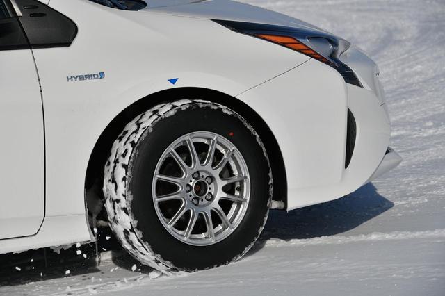 画像: 雪道もちゃんと走ります。