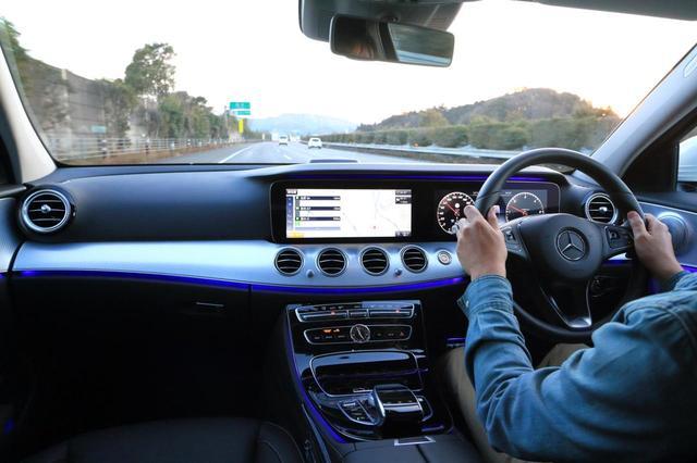画像: レベル2の運転支援システムを標準装備し、高速巡航はきわめて快適かつ安心にこなしてくれる。