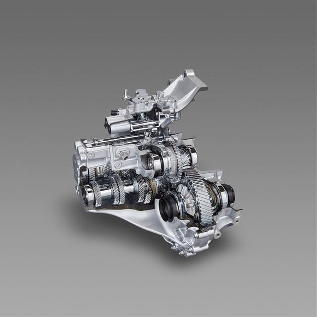 画像: 新型6速マニュアルトランスミッション(6MT)。