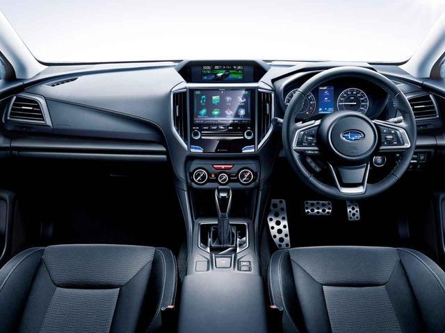 画像: インプレッサ  1.6i-L EyeSight S-styleのインテリア。シートやハンドルなどに上級装備が採用される。