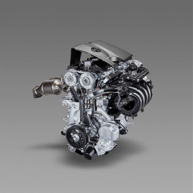 画像: 新型直列4気筒2.0L直噴エンジン「Dynamic Force Engine(2.0L)」。