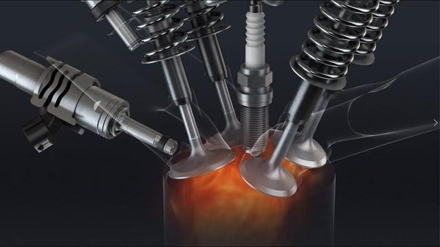 画像: 新型直列4気筒2.0L直噴エンジン「Dynamic Force Engine(2.0L)」 youtu.be