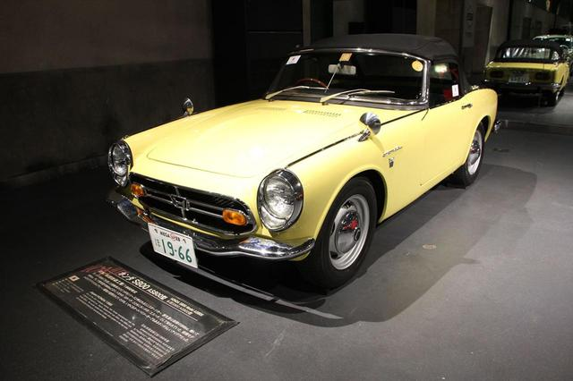 画像: ホンダ S800(1966年式)
