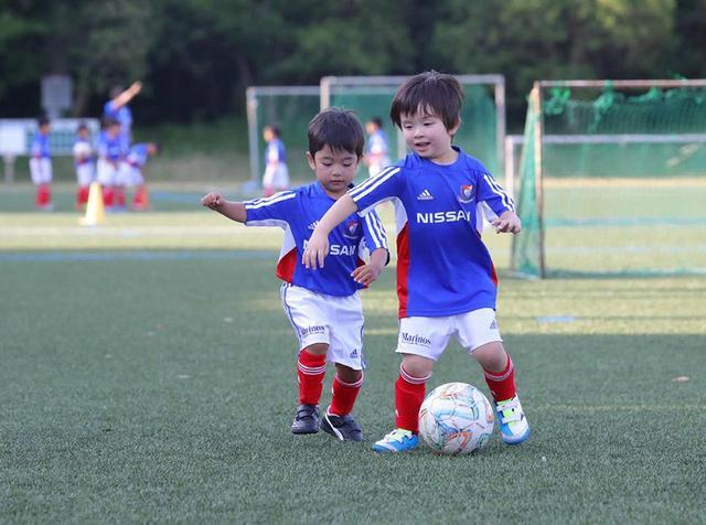 画像: 横浜F・マリノスはじめてのサッカー教室