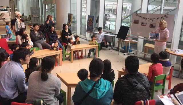 画像: 五感で楽しむ英会話教室、NISSAN KIDS' English School