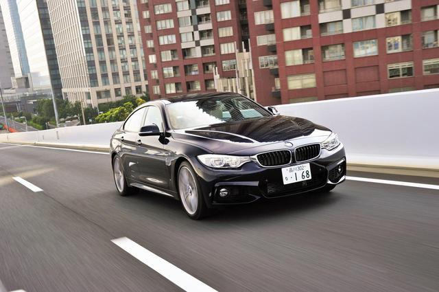 画像: BMW 4シリーズ グランクーペもまたサッシュレスドアを採用する、4ドアクーペモデルだ。