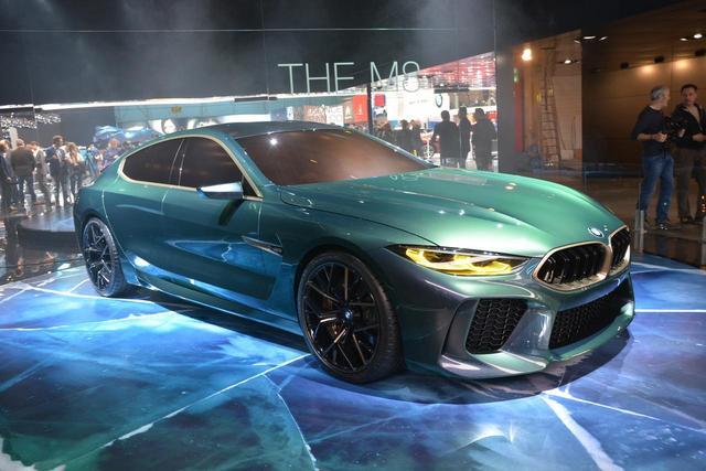 画像: BMW M8グランクーペ。コンセプトモデルだが、ほぼこのまま登場しても違和感ない。