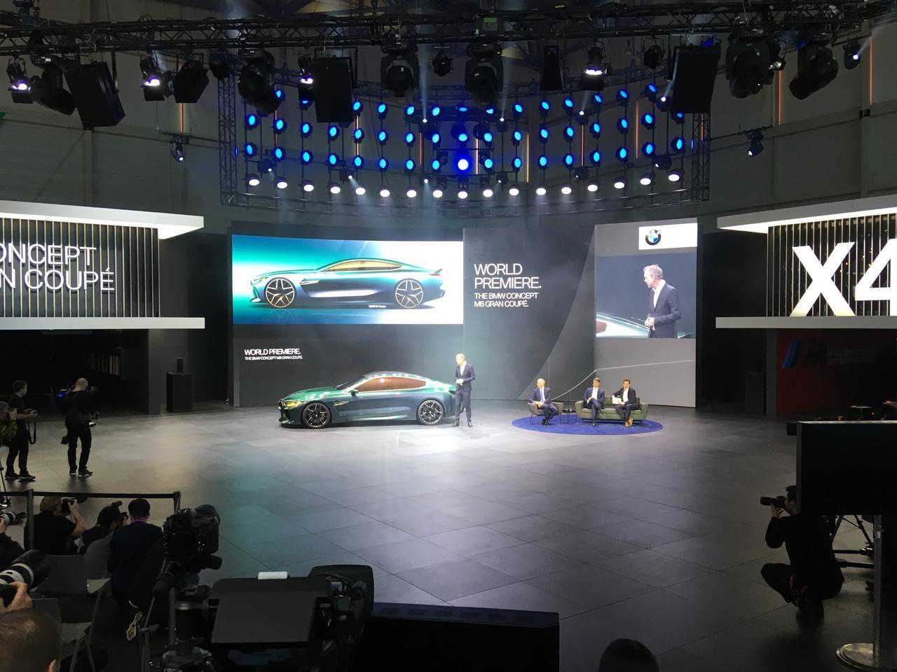 画像: ジュネーブ国際モーターショーでワールドプレミアとなったBMW M8 グランクーペ。