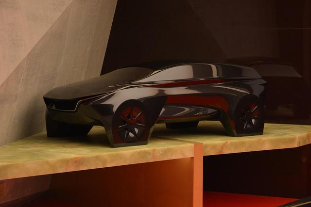 画像: SUV風のデザインもあった。
