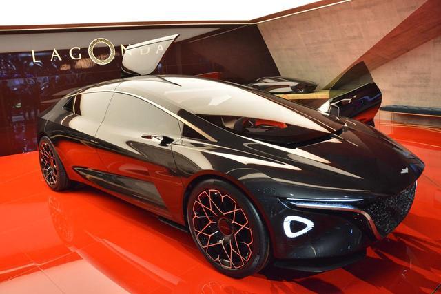 画像: 高級EVブランドとして展開する「ラゴンダ」