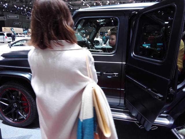 画像5: 一番見たかった!『AMG G63』にファーストコンタクト【ジュネーブショー2018】