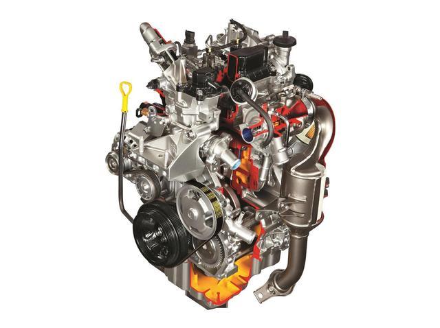 画像: 800cc 直列2気筒のディーゼルエンジン。スズキ セレリオに搭載されていた。