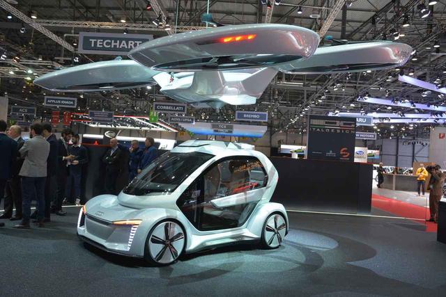 画像: イタルデザインとアウディ、エアバスによるコラボレーションで開発が進む。