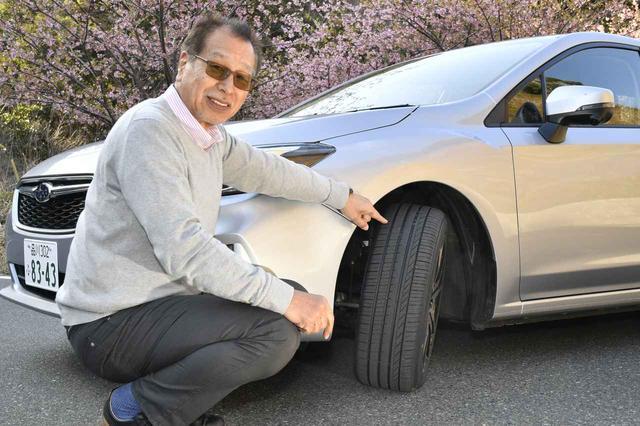 画像: レポーターはモータージャーナリスト、こもだきよし氏。AJAJ(日本自動車ジャーナリスト協会)の会長。
