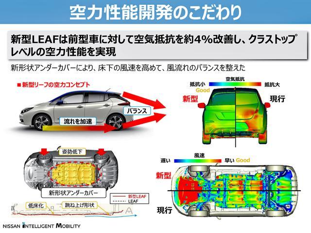画像: 新形状アンダーカバーなどにより、クラストップレベルの空力性能を実現した。