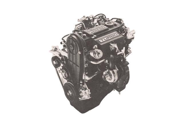 画像: シャレード ディーゼルターボに搭載されたエンジンは993CC直3で、50ps/9.3kgmのパワーを発生する。