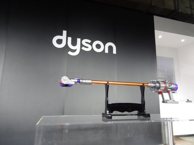画像: ダイソン サイクロン V10 コードレスクリーナー。オープン価格。