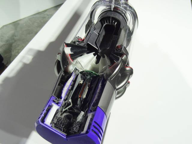 画像: 設計を根本的に見直したモーター。毎分最大12万5000回転するという。