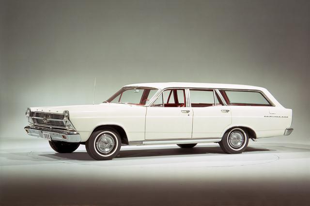 画像: フェアレーンは過去にも存在していた。これはワゴンモデルだが、現在のフレックスに通じるデザインを感じる。