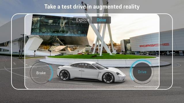 """画像: """"Drive""""を選べば走らせることもできる。"""