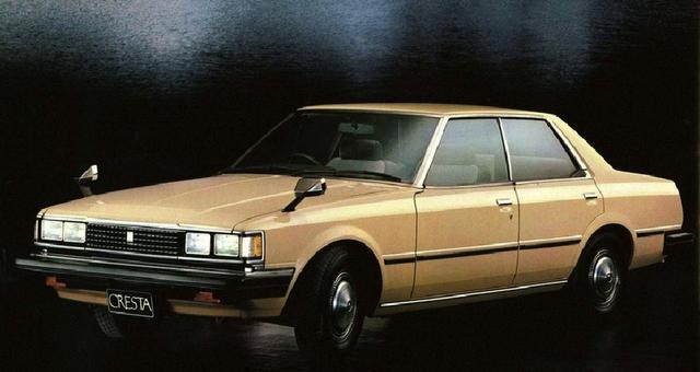 画像: 角目4灯ヘッドライトで、兄弟車のマークⅡ/チェイサーよりも高級なイメージを醸し出していた。写真は「スーパーカスタム」。