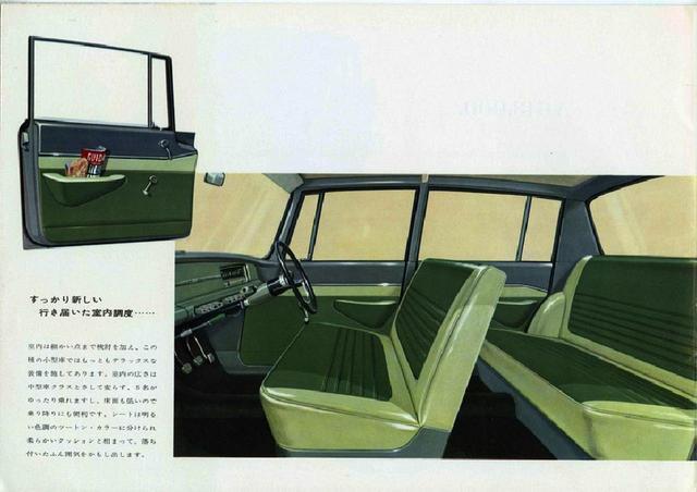 画像: インテリア。この当時は、シートベルトもヘッドレストもない時代だ。