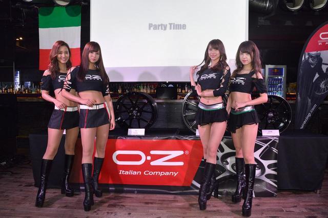 画像: 新製品はOZレーシング2種類、スパルコ2種類。