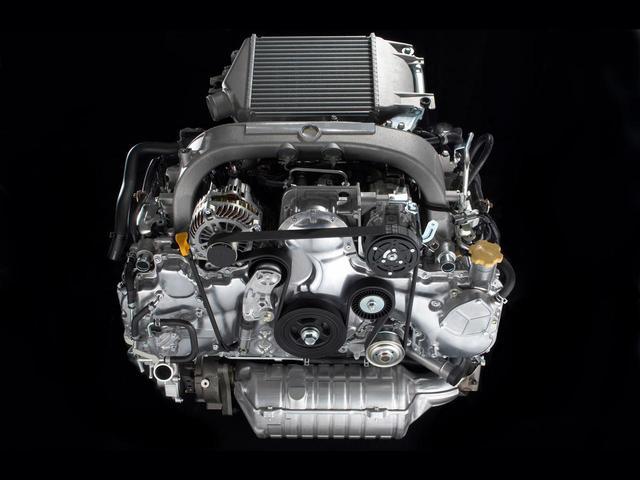 画像: 2L水平対向4気筒ディーゼルターボエンジン「EE20」。