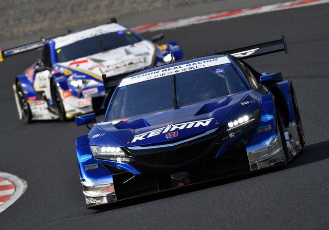 画像2: NSX-GTが1-2フィニッシュ J・バトンが表彰台に 【スーパーGT 開幕戦 岡山国際サーキット】