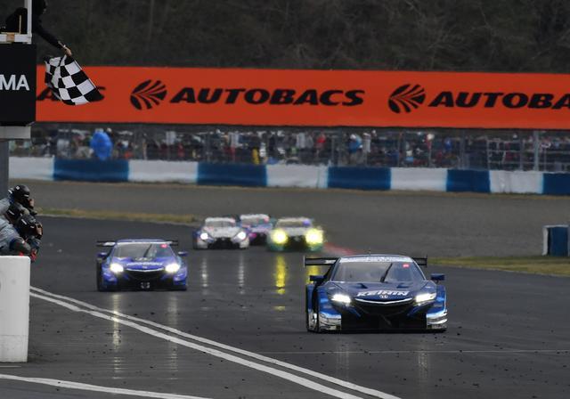画像5: NSX-GTが1-2フィニッシュ J・バトンが表彰台に 【スーパーGT 開幕戦 岡山国際サーキット】