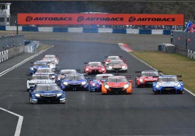 画像1: NSX-GTが1-2フィニッシュ J・バトンが表彰台に 【スーパーGT 開幕戦 岡山国際サーキット】