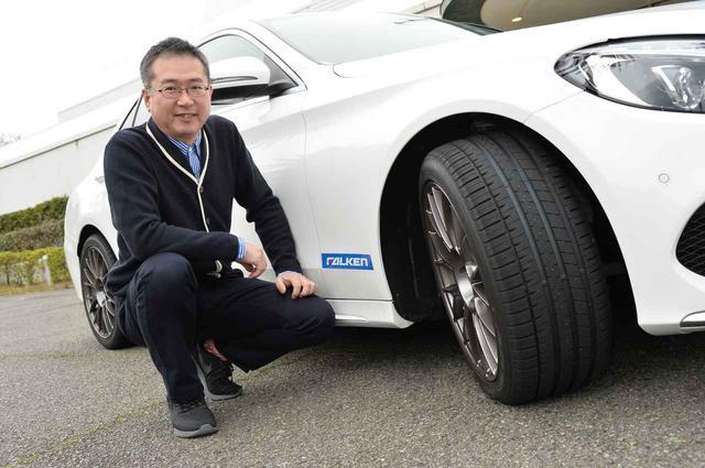 画像: 試走はモータージャーナリストの瀬在仁志氏。乗り心地の良さに感動しました。