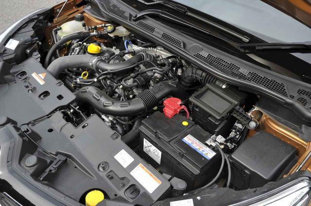 画像: おなじみH5F型直4直噴ターボエンジン。2000rpmから最大トルクを発生する。もちろんストップ&スタート機能も搭載する。