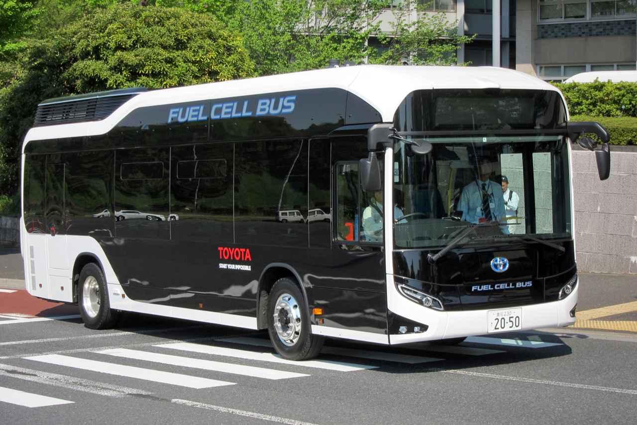 燃料 電池 バス