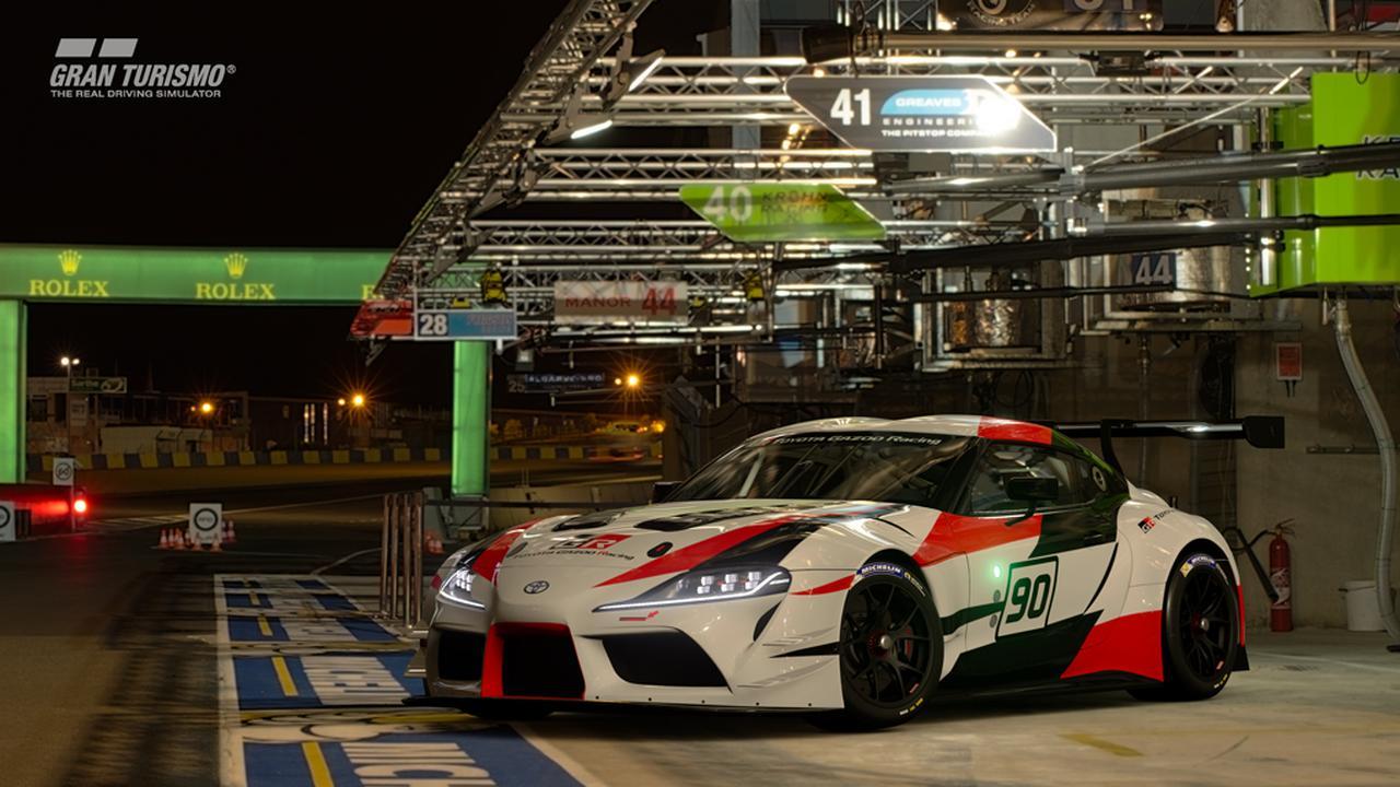 画像7: 【ニュース】トヨタGRスープラ レーシングコンセプトがグランツーリスモSPORTに登場 !