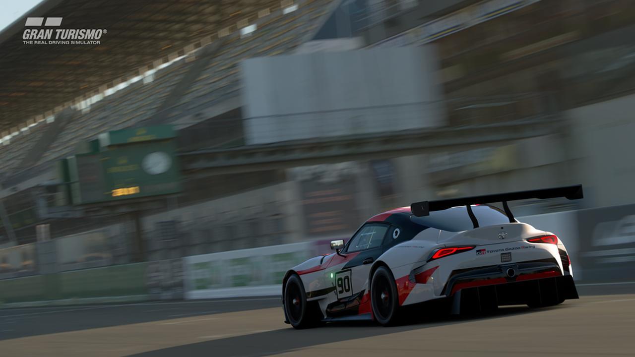 画像5: 【ニュース】トヨタGRスープラ レーシングコンセプトがグランツーリスモSPORTに登場 !