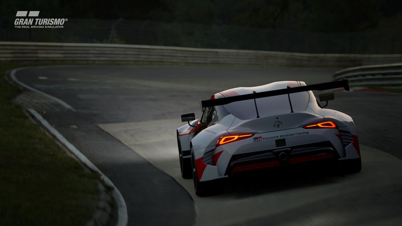 画像2: 【ニュース】トヨタGRスープラ レーシングコンセプトがグランツーリスモSPORTに登場 !
