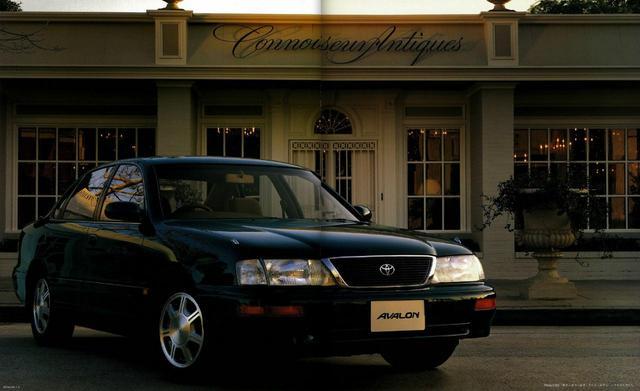 画像: アバロンはアメリカで生産され日本で販売された「逆輸入車」だった。