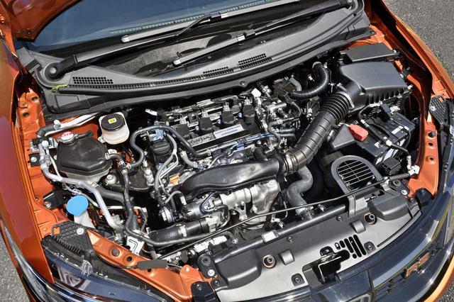 画像: 1.5Lのガソリンエンジンは、150ps/203Nmを発生。RSでは専用セッティングが施されている。