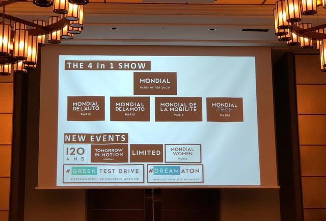 画像: 「THE 4 in 1 SHOW」、4つのイベントがひとつのショーとして開催される。