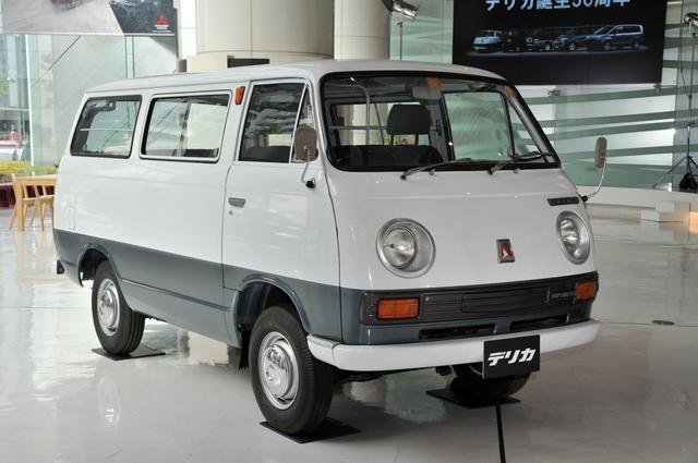 画像: 初代デリカバン(1973年式)。1.4ℓの2WDで、車両価格は68万5000円。キャラクターがずいぶん変わったことがデザインからもうかがえる。