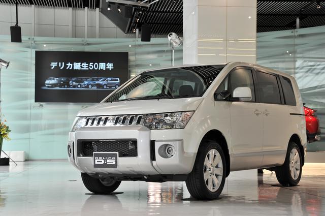 画像: 5代目(現行型)デリカD:5。SUVの強みを取り込みながら、ミニバンの使い勝手の良さを併せ持っており、他社にはない魅力も持っている。