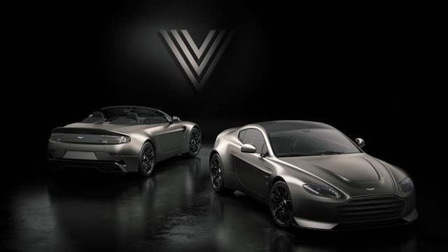 画像: アストンマーティン V12 ヴァンテージ V600はクーペ7台、ロードスター7台の限定発売。